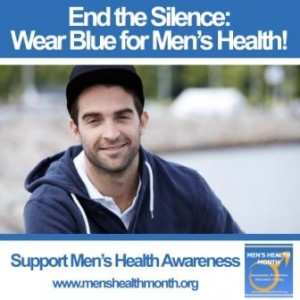 Wear Blue for Men's Health MHM