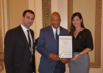 Cong. Elijah Cummings (MD) + MHN's Sam Mayper and Ana Fadich - Baltimore, MD MHW