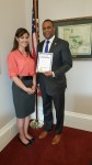 Cong. Marc Veasey (TX) + MHN's Ana Fadich - Irving MHW