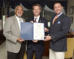 "Mayor Tim Burchett + MHN's Thomas ""Tank"" Strickland and Mike Leventhal - Knox County MHW"