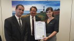Sen. Gary Peters (MI) + MHN's Sam Mayper and Ana Fadich - Michigan MHW