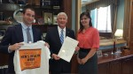 Sen. Roger Wicker (MS) + MHN's Sam Mayper and Ana Fadich - Mississippi MHW