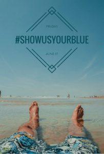 #ShowUsYourBlue Social Media Storm
